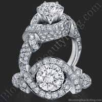 The Eternal Embrace Diamond Engagement Ring - bbr327