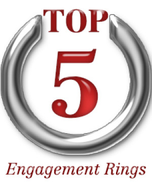 Top 5 Unique Engagement Rings for the week of 1-26-2015