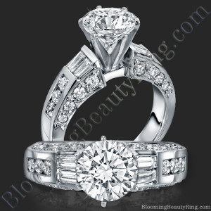 Traditional Style 6 Prong Engagement Ring – bbr328